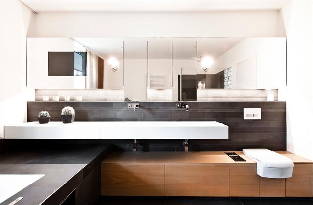 umbau villa in bremen modern badezimmer bremen von glas service tanneberg. Black Bedroom Furniture Sets. Home Design Ideas