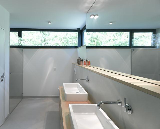 Villa mit atrium for Minimalismus hausbau