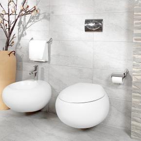 Villeroy & Boch Pure Stone Tiefspülwand-WC - Contemporain - Salle de ...