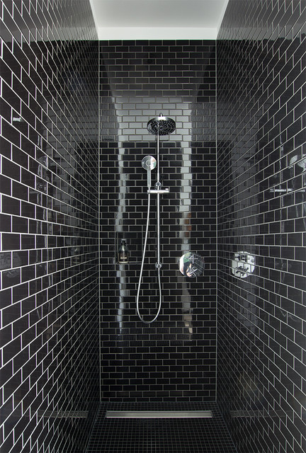 The Beauty Of Monochrome Bathrooms