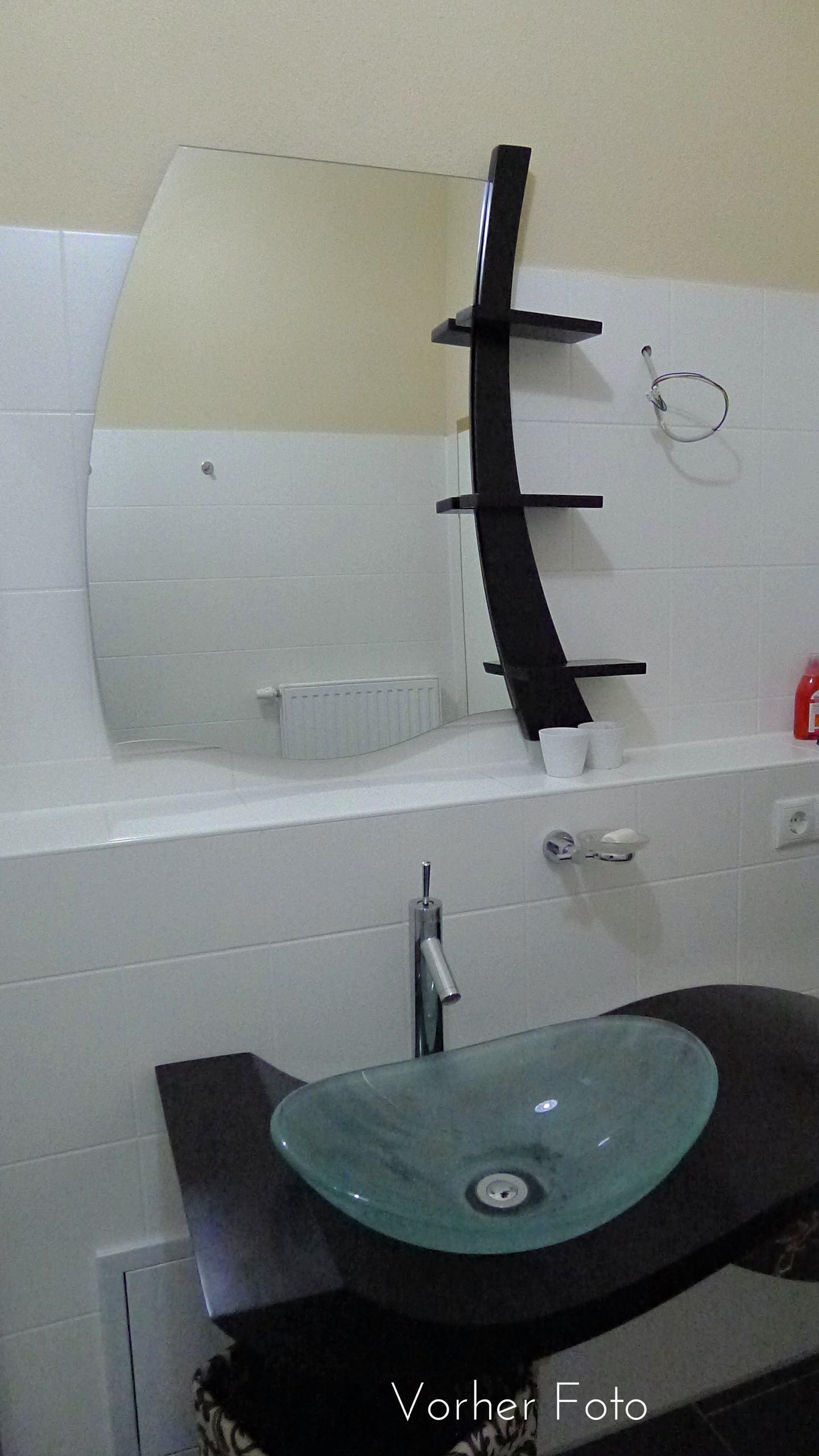 Vorher Foto Badezimmer