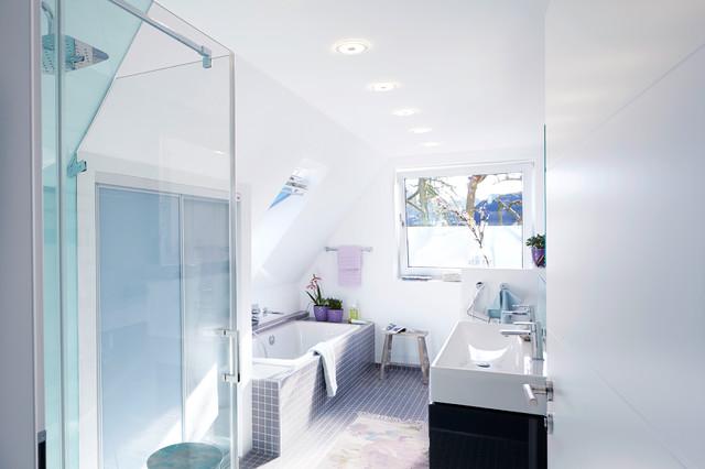 vorher nachher ein neues badezimmer f r die ganze familie modern badezimmer sonstige. Black Bedroom Furniture Sets. Home Design Ideas