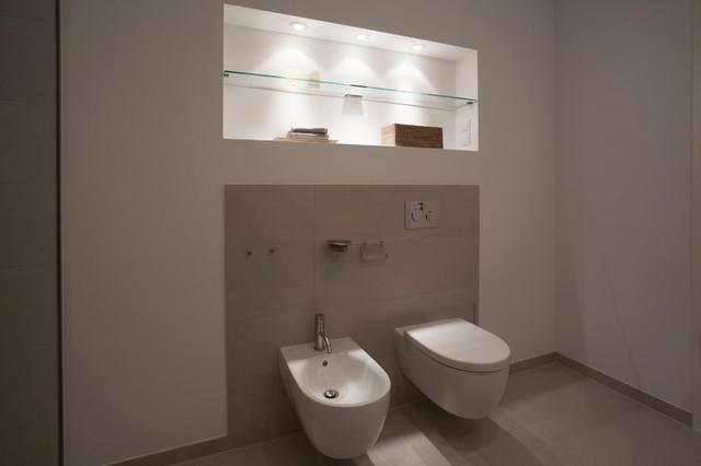 Wandnische Contemporary Bathroom Berlin By Goldmann