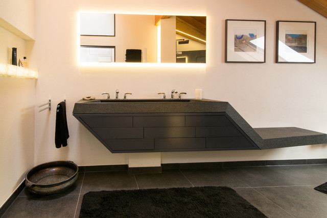 Waschtisch masterbad modern badezimmer stuttgart - Badezimmer stuttgart ...