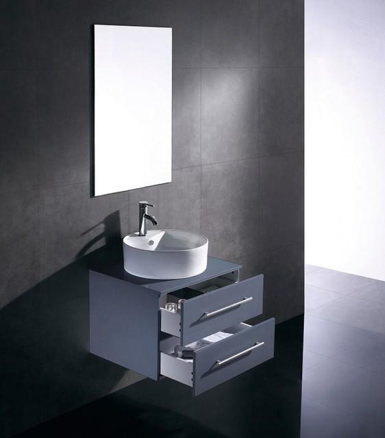 waschtisch waschbecken schwarz contemporary bathroom by emotion. Black Bedroom Furniture Sets. Home Design Ideas