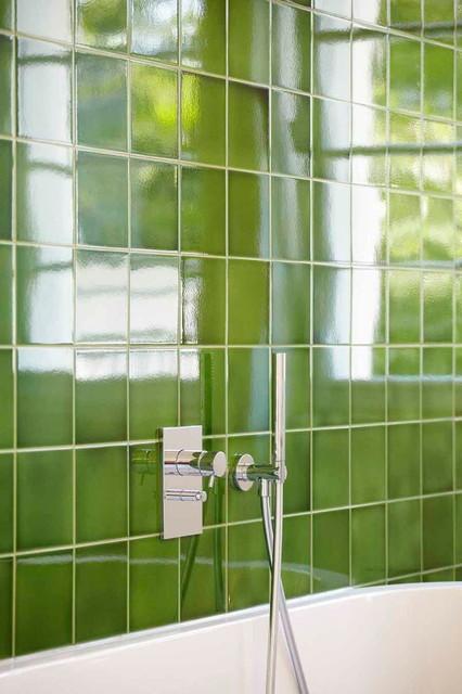 Wohnhaus 20er Jahre Modern Badezimmer