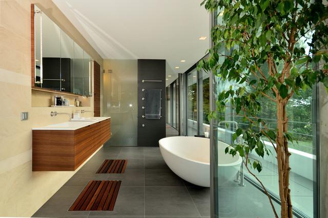 Zen Modern Badezimmer