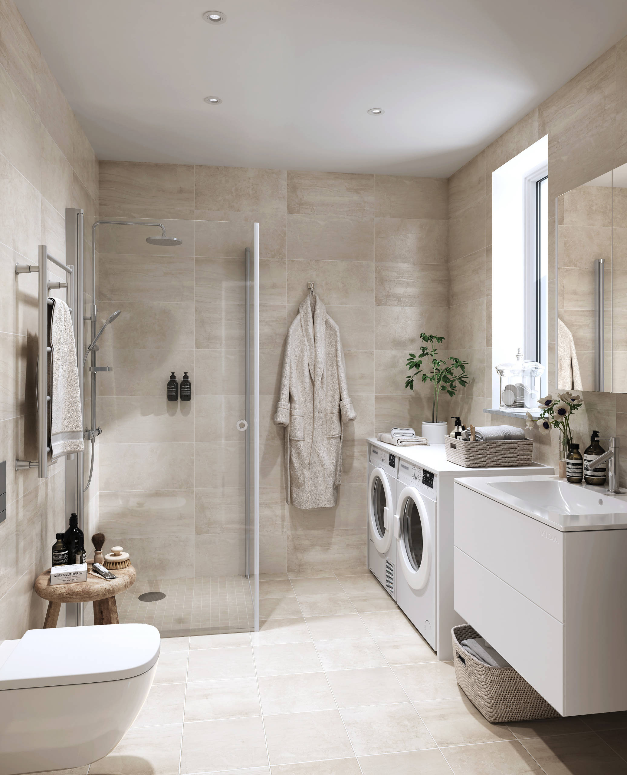 75 Beautiful Bathroom Laundry Room Pictures Ideas April 2021 Houzz