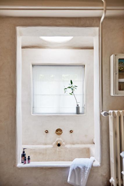 Idéer för vintage badrum