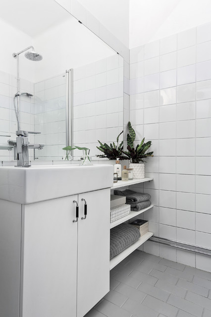 Ernst Ahlgrens Väg skandinavisk-badrum