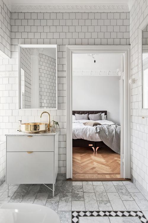 Bad en suite: Vor- und Nachteile vom Bad im Schlafzimmer