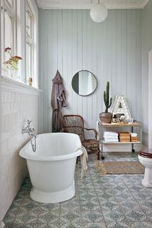 Berömda Foton och badrumsinspiration för lantliga badrum ZH-09