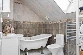 Bra Foton och badrumsinspiration för lantliga badrum UL-32