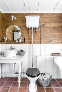 Unika Foton och badrumsinspiration för lantliga badrum HC-52