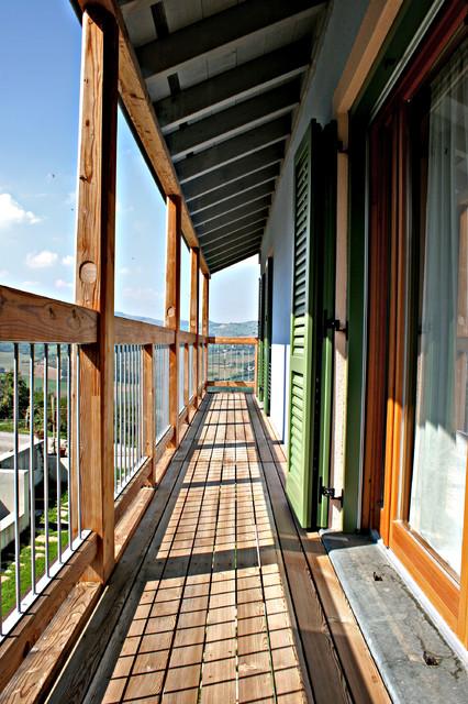 Case in legno in montagna balcone milano di for Galimberti case legno