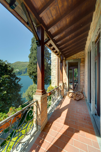 Copertura Balconi. Beautiful Coperture Per Terrazze In Legno With ...
