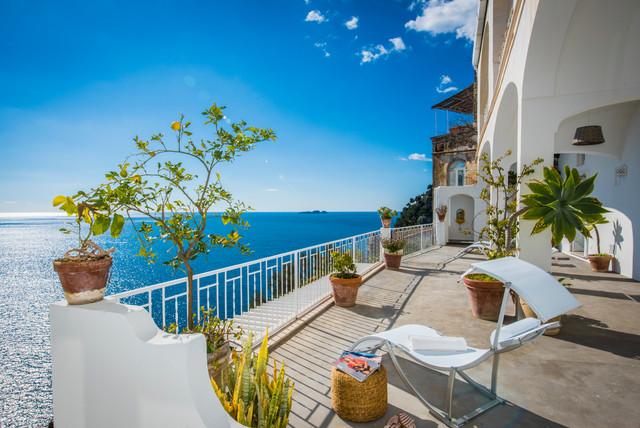 Villa Fioravante Esterno Li Galli Al Mare Balcone