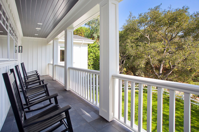 Boca De Canon House Traditional Porch Los Angeles