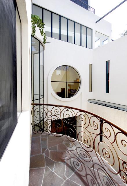 Casa Lluvia Blanca southwestern-porch
