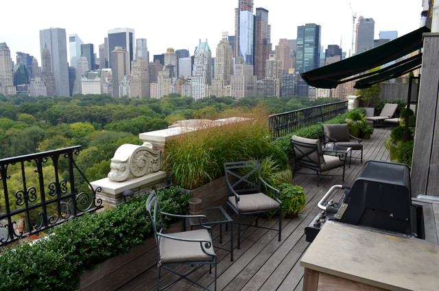 Central park west traditional balcony new york by for Landscape design new york
