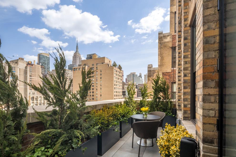 Chelsea Loft Apartment - Contemporary - Balcony - New York ...