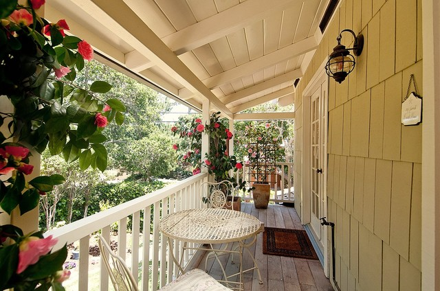 traditional porch by Debra Campbell Design
