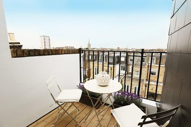 Delaford Street Fulham Sw6 Contemporary Balcony