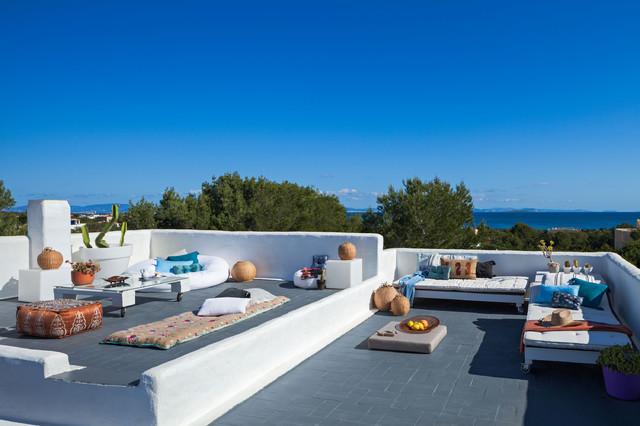 Modelo de balcones mediterráneo, grande, sin cubierta