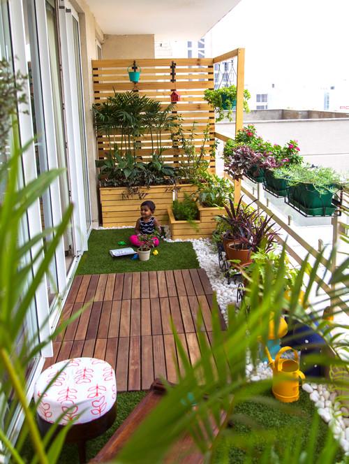 Balkon i taras inspiracje czytaj na kocham urz dzanie - Enclosed balcony design ideas oases of serenity ...