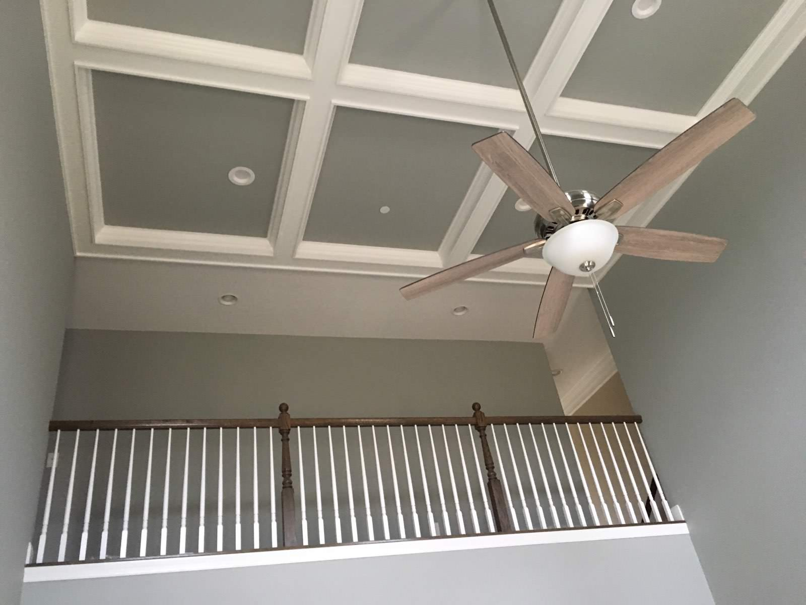 Interior ceiling and overlook