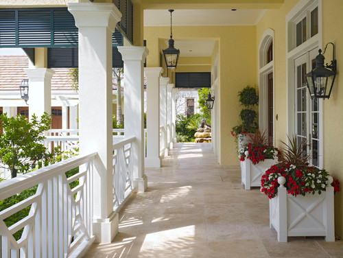 Creating An Inviting Front Porch Sharon Hines Geralin