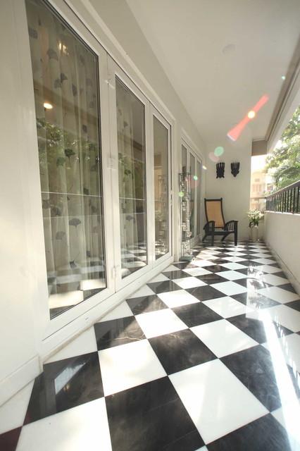 Luxury apartment renovation for Balcony renovation