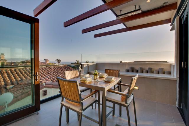 Manhattan Beach Ocean view Architectural beach-style-deck