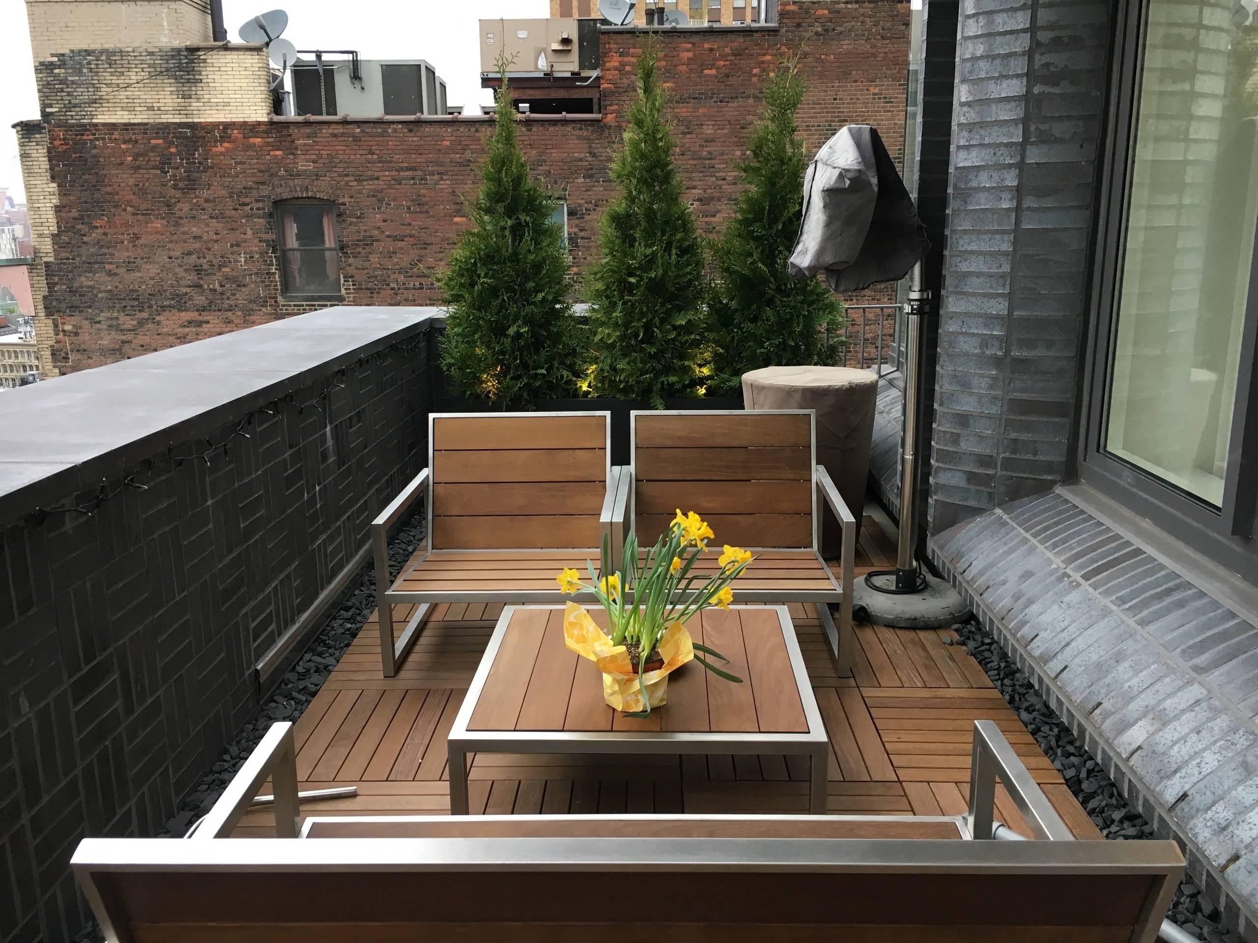 Manhattan Rooftop Garden 7