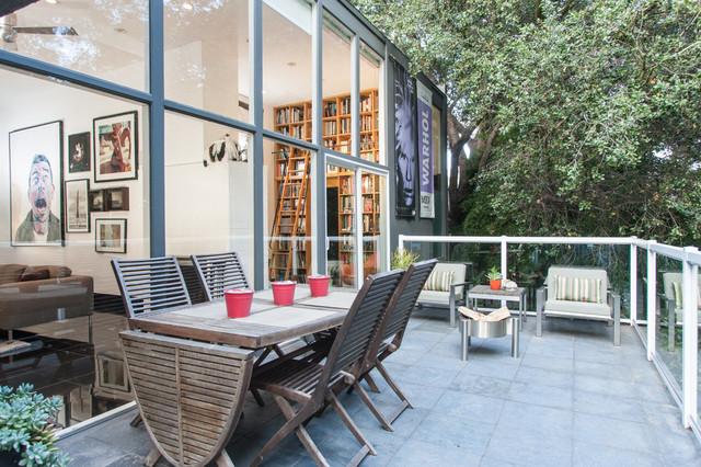 Real Estate Agents Matt Kivlin Aia Mid Century Modern Contemporary Balcony