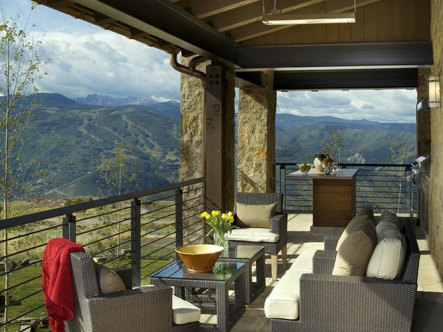 Morning Star Residence modern-porch