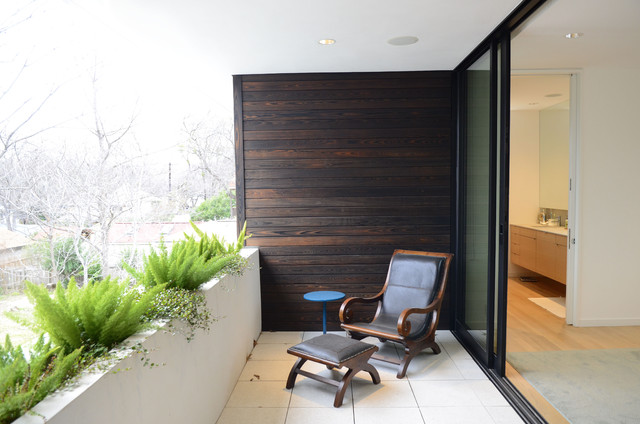 My Houzz: Modern Urban Oasis in Austin porch