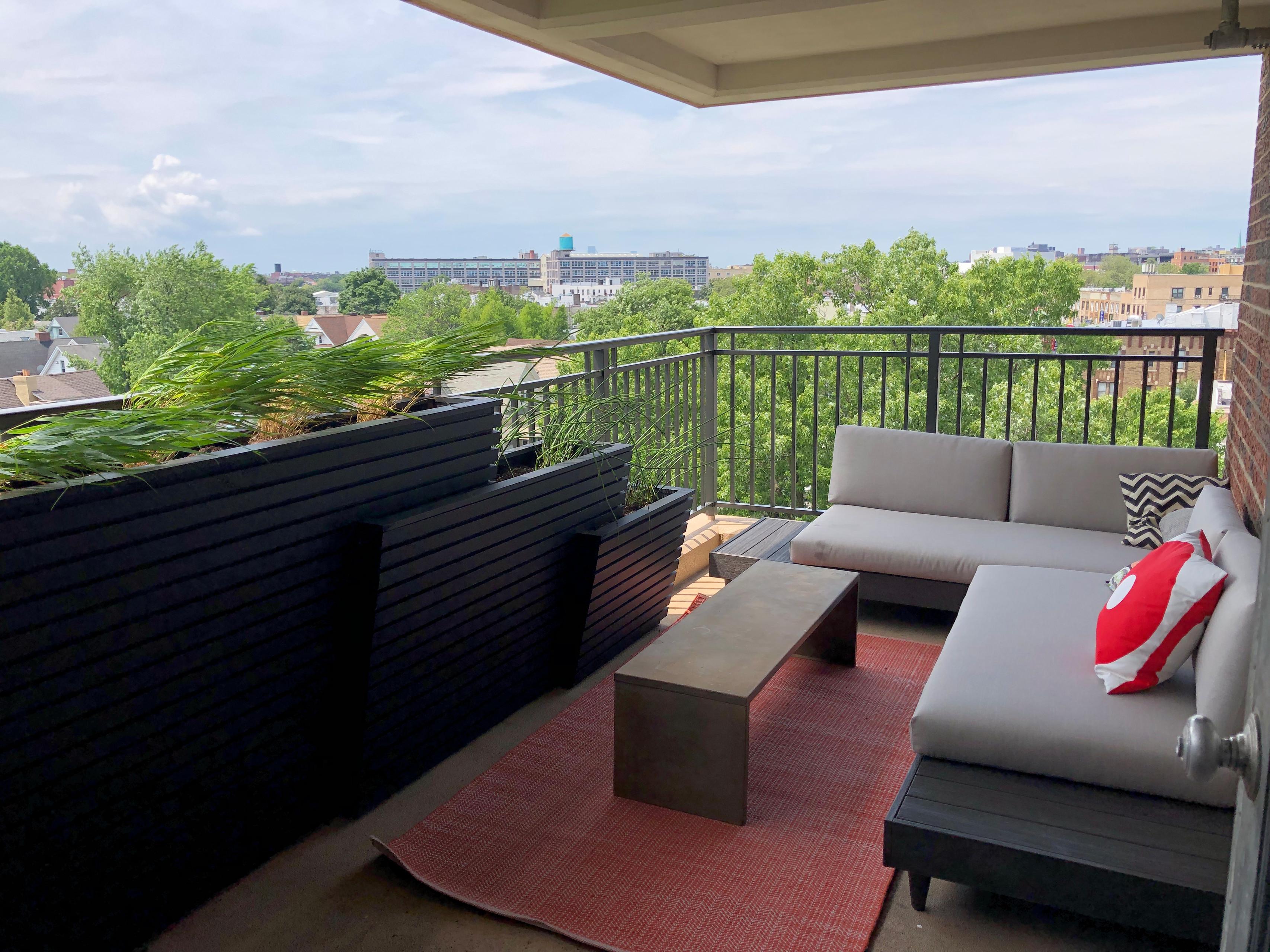 Park Slope Co-op balcony