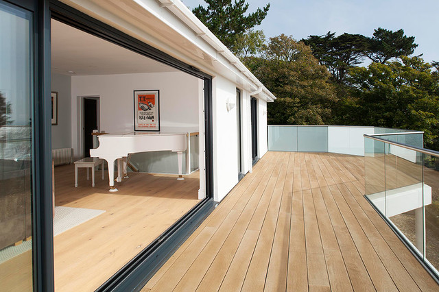 South West Cornwall home - Contemporary - Balcony - south west - by ...