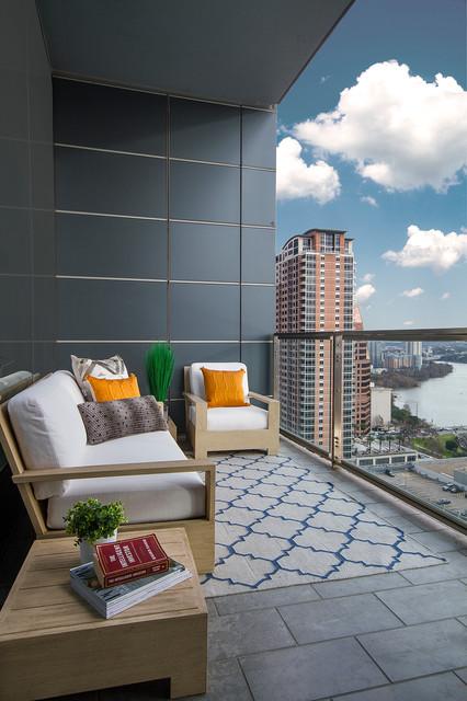 Wow 25 Desain Balkon Minimalis Ini Bikin Rumah Terlihat Elegan