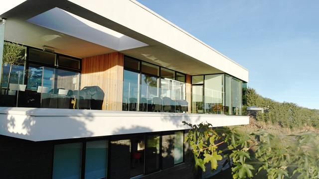 Svejbæk   moderne   terrasse & altan   other metro   af skovhus ...