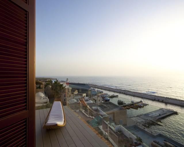Tel-Aviv Penthouse Apartment modern-patio