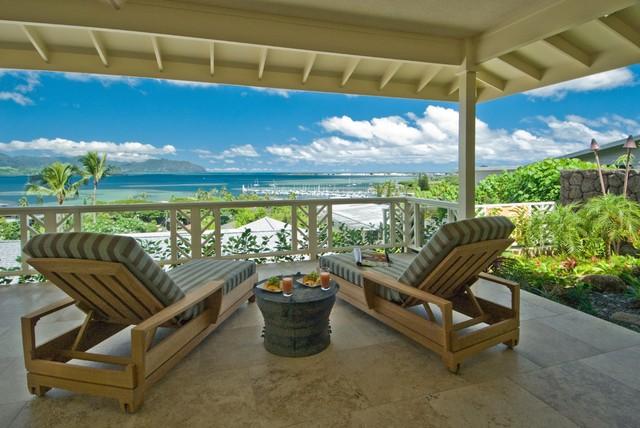 The bay house tropical balcony hawaii by for Archipelago hawaii luxury home designs