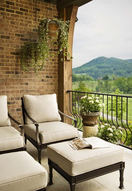 The Cliffs at Walnut Cove: Moniotte Residence traditional-porch