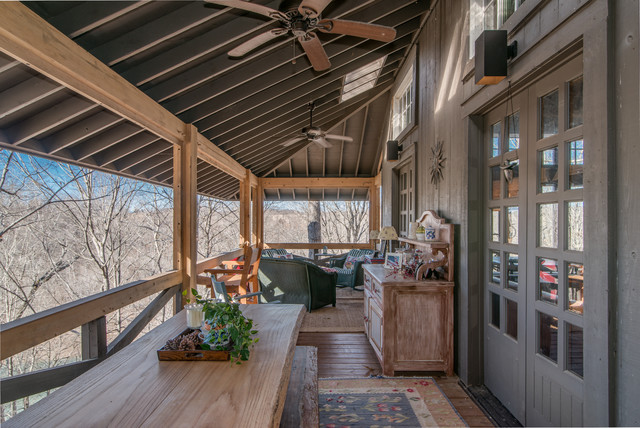 Timber Frame Porches Rustic Porch Nashville By