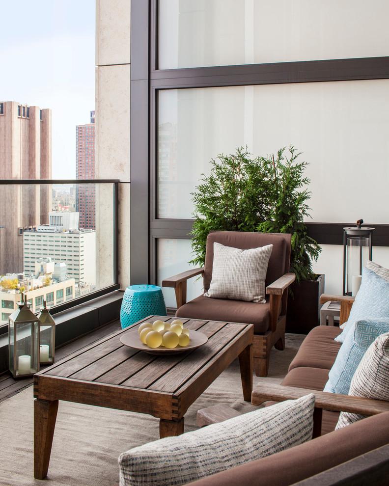 Tribeca Apartment - Contemporary - Balcony - New York - by ...