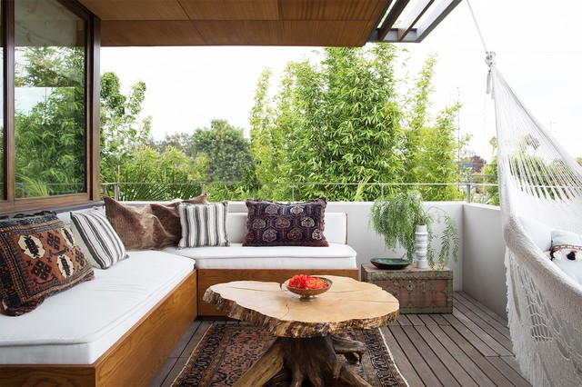 Venice - Beach Modern contemporary-balcony