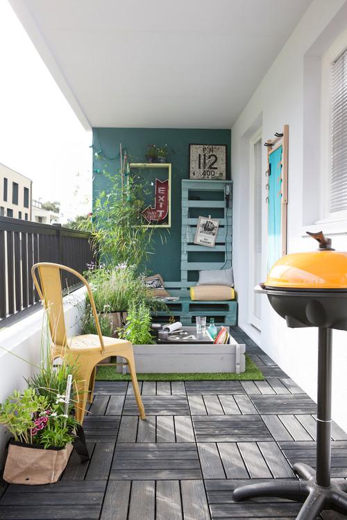 Aménager un petit balcon urbain, mode d\'emploi