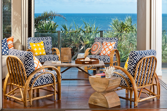 Beach House tropical porch