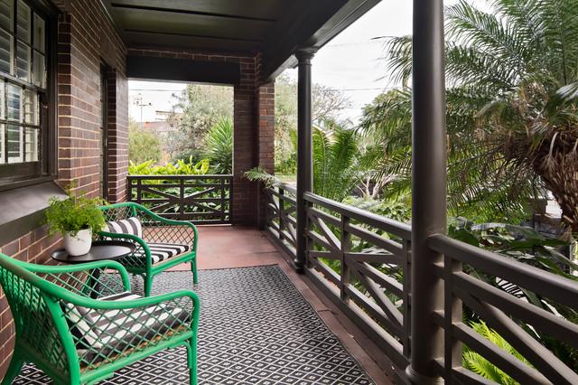 Bondi Californian Bungalow Tropical Balcony Sydney
